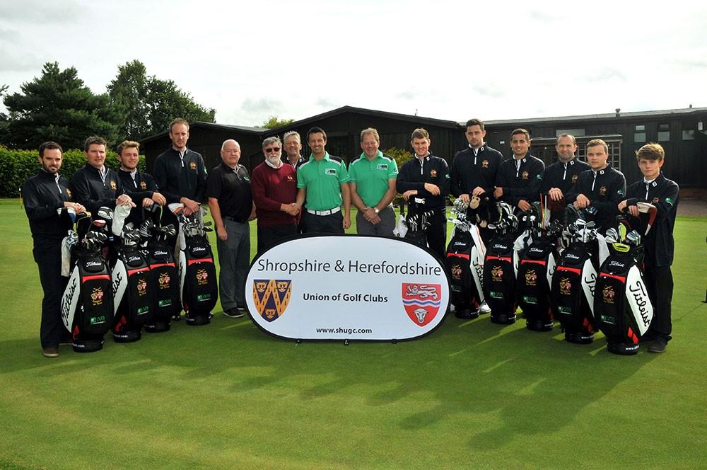 Shropshire & Herefordshire county golf team